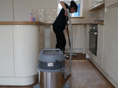 After builders kitchen cleaning london